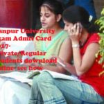 CSJM Kanpur University Exam Admit Card 2017- Private/Regular Roll Number