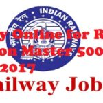 RRB Assistant Station Master Jobs 2017