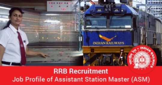 RRB ASM (Assistant Station Master) Recruitment 2017