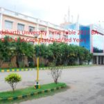 Siddharth University Time Table 2017 BA B.Sc M.A M.Com (1st/2nd/3rd Year) Exam Date sheet at www.sidunikapilvastu.edu.in