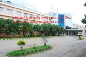 Siddharth University Time Table 2017 BA B.Sc M.A M.Com (1st/2nd/3rd Year) Exam Date sheet 2017 at www.sidunikapilvastu.edu.in