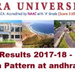 Andhra University Results 2017-18 - Exam Schedule, Admit Cards, Exam Pattern at andhrauniversity.edu.in