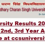 CCS University Results 2017-18- CCSU 1st, 2nd, 3rd Year Admit Card, Time Table at ccsuniversity.ac.in