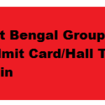 WBGDRB West Bengal Group D Written Exam Date Admit Card Hall Ticket 2017 @ www.wbgdrb.in