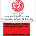 YCMOU Result 2017 2018 Yashwantrao Chavan Open University Exam Pattern, Admit Card