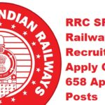 RRC SR (Southern Railway) Recruitment 2017 Apply Online for 658 Apprentices Posts