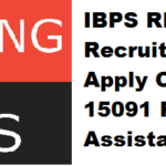 IBPS RRB Recruitment 2017 Apply Online for 15091 RRB Officer & Assistant Posts