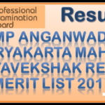 MP 714 Anganwadi Supervisor Result 2017 out VYAPAM http://vyapam.nic.in