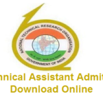 NTRO Recruitment for 99 Technical Assistant Exam Hall Ticket Available at www.ntro.gov.in